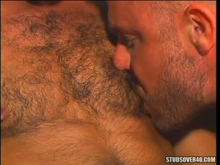 Muscle Daddies Eric York And Tom Colt Go At It Like Hairy Animals In This Tantalizing Scene