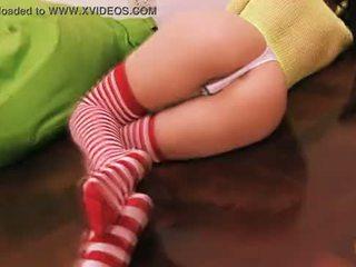 phat socken und arsch knie