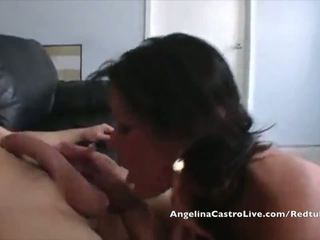 Busty Angelina Castro Fucks Salesman!