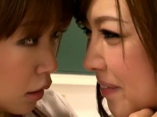 Asian Schoolgirl Makes Teacher Lesbian Pet Part 13