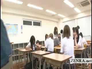 Subtitles Japan school girl mistakenly Naked in school