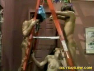 fan på tit, retro porn, vintage sex