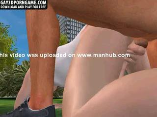 Daži seksuālā anāls sekss ir happening uz the park
