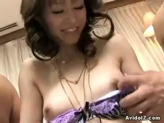 pinakamabuti brunette magaling, blowjob kalidad, sariwa threesome ideal