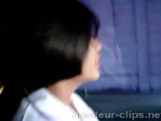 Rondborstig thai tiener getting klaar naar zijn geneukt
