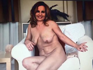Amateur Housewife Steffi at Naked Casting Interview.