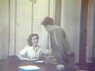 Den screwing sekretær