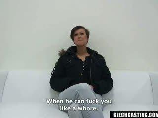 Emylia Argan - Czech Casting - Busty Nikola rides the cock