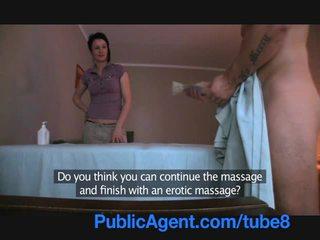Publicagent baise la masseur milf