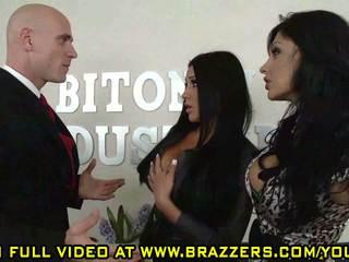 brunettes online, more threesome fresh, ffm real