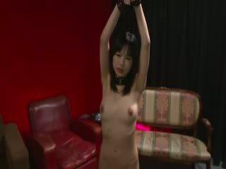 Oosters porno meesteres licking heet seks speelbal voor sexy oosters model