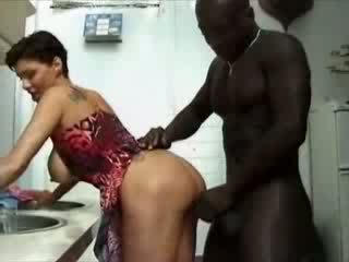 BBW france housewife haviing sex with African cock Video