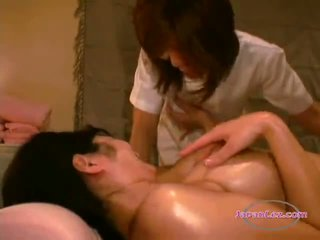 Asian Girl Getting Her Hairy Pussy vib...
