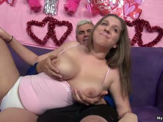 Sexy brunette Alex Chance gets her pussy fingered