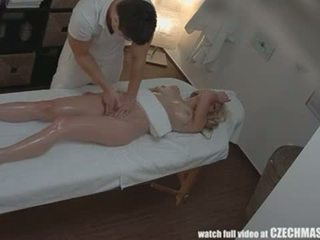 Czech massage anal blonde