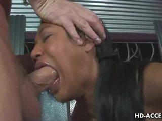 deepthroat, cum in mouth, face fucking, blowjob, oriental, cum swallow