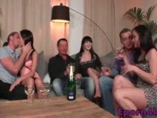 sexo grupal, swingers, europeu