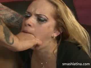 rough, girl, facefuck