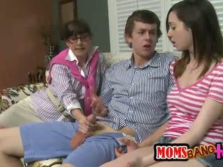 不错 团体性交 额定, 在线 人妖 有趣, 不错 三人组 满