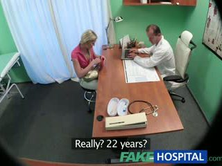 Fakehospital тендітна краля wants секс з лікар