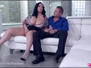 Fuckinhd : كبير titty بيتزا delivery