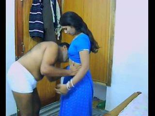 Ấn độ pair onto của họ honeymoon chewing và bonking