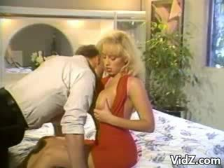 Blondie bitch slams fuck Dildo up hunk's ass