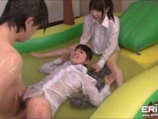 japanese, threesome, hardcore