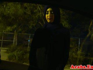 Arab hijabi ファック で 禁じられた タイト プッシー: フリー ポルノの 74