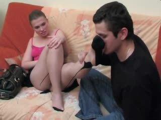 Alana&silvester - ใช้เท้า และ เพศสัมพันธ์