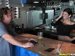 briunetė, realybė, hardcore sex