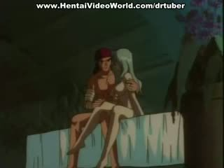 Hentai porno koos a rinnakas beib