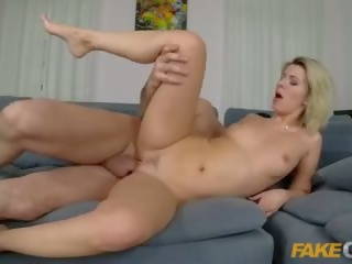 Fake Cop Sexy single MILF seduces uniformed policeman
