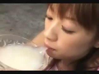 Asyano pagbuga ng tamod drinkers
