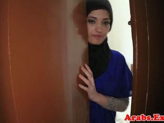 Arabisch amateur beauty pounded voor cash, porno 79