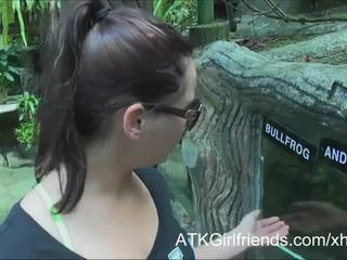 You cum on Hope Howell's glasses on vacation in Malaysia