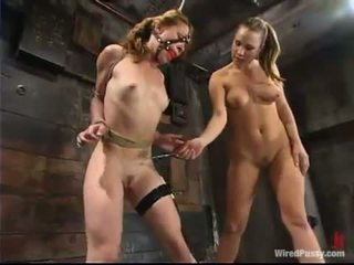 Bobbie Kat Has Tormented By Harmony In Sadism Performance