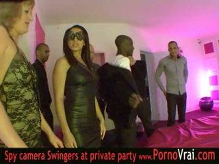 프랑스의 진동하는 사람 파티 에 a 개인 클럽 부분 03