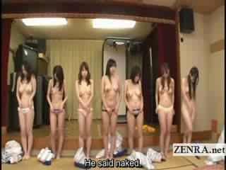Subtitled skupina na japonská milfs stripping pro racing hra