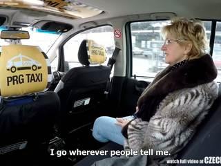 Ceco matura bionda affamato per taxi drivers cazzo: porno 99