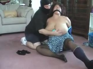 Bbw bent πέρα, tied, gagged και.