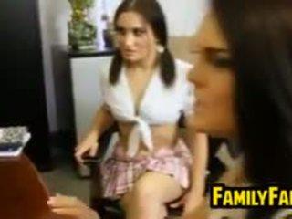 Mother And Daughter In Law In Threesome