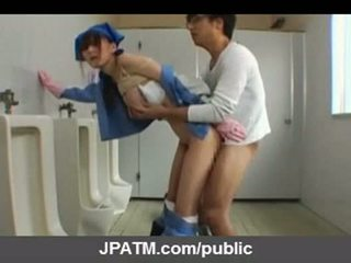 Jaapani avalik seks - aasia teismeliseiga exposing väljaspool part03