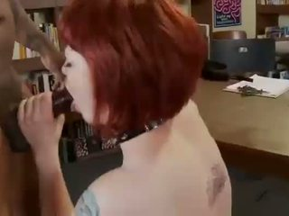 Redhead gothic teeen getting fucked in...