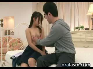 Japonesa aluna wants para ter sexo