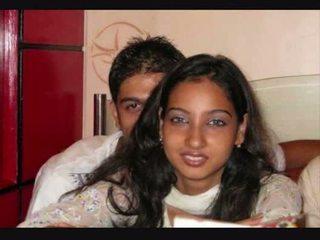 przyjaciel, dziewczyna, indyjski