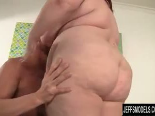 Bbw eliza allure plays may a titi before getting fucked
