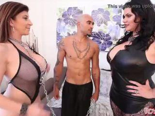 Král a angelina castro dominate sara jay velké krásné ženy trojice <span class=duration>- 2 min</span>