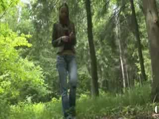 Adventure pijpen in de bos