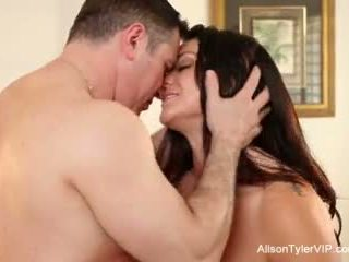 Alison tyler gets गड़बड़ कठिन